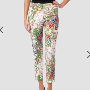 Joseph Ribkoff Floral Cropped Pants
